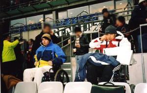 Service d'animation à la Tour de Gassies lors d'une sortie à un match de football