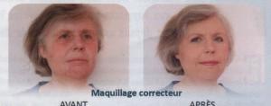 Avant et Après le maquillage